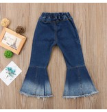 Retro Ombre Bell Bottom Jeans