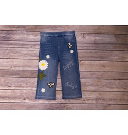 Baby Sara Happy Always Embroidered Hippie Jeans