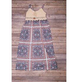 Bonnie Jean Crotched Maxi Dress