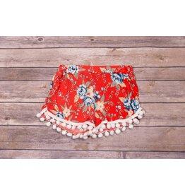 Pomelo Tomato Floral Shorts