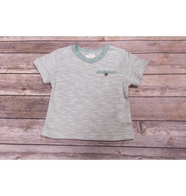 Frenchie Aqua Pocket Knit Shirt