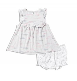Angel Dear Confetti Whale Dress with Bloomers