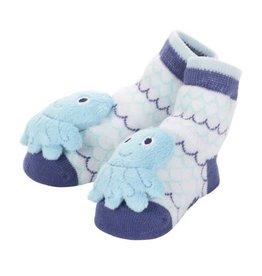 Baby Dumpling Octopus Rattle Socks 0-12M