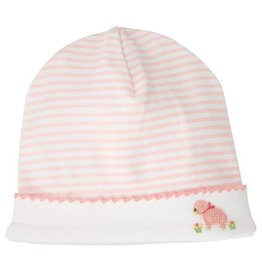 Mud Pie Little Lamb Striped Cap 0-3M