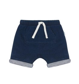 Miles Baby Blue Tie Knit Shorts