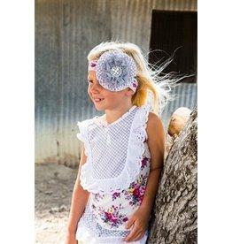 She Bloom Sunshine Grey Headband