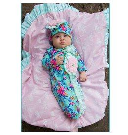 She Bloom Sherbet Blanket