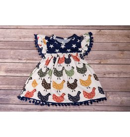 Chicken Pom Pom Dress