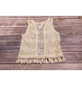 Mini Mini Country Song Crochet Lace Vest