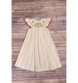 Mom & Me Carnival Smocked Dress