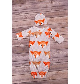 Fox Head Gown and Hat Set
