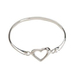 Cherished Moments Heart Bangle