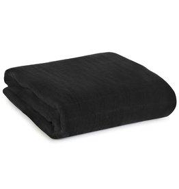 Modern Burlap Onyx Muslin Organic Swaddle Blanket