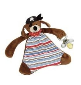 Maison Chic Patch the Pirate Dog Paci Blanket