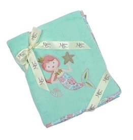 Maison Chic Coral the Mermaid Plush Blanket