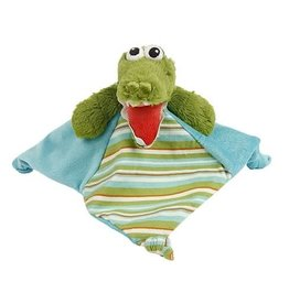 Maison Chic Gary the Gator Rattle Blankie