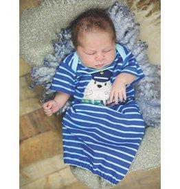 Haute Baby Ahoy Boy Gown 0-3M