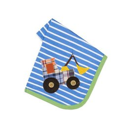Haute Baby Get The Scoop Striped Blanket
