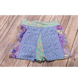 Tru Luv Lagoon Print Wrap Shorts