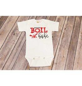 Bayou Baby Boil Babe Onesie