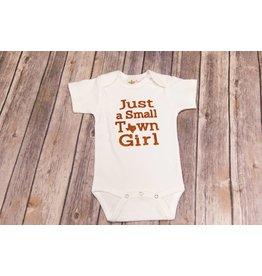 Bayou Baby Small Town Girl Glitter Onesie