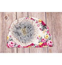 She Bloom Sunshine Grey Hat