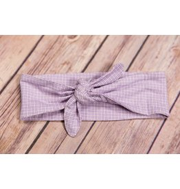 Sweet Bamboo Purple Chinese Headband