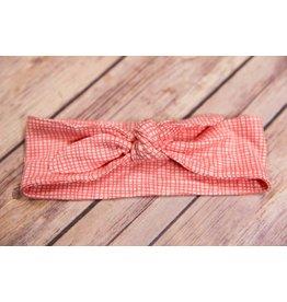 Sweet Bamboo Pink Weave Headband