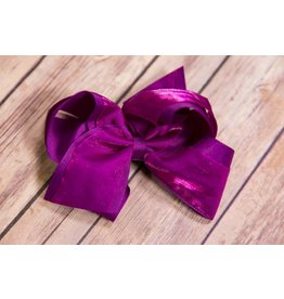 Wee Ones Purple Rain Overlay Bow