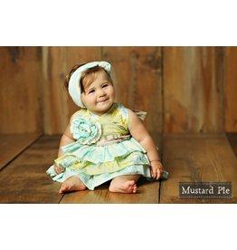 Mustard Pie Apple Blossom Jubilee Romper