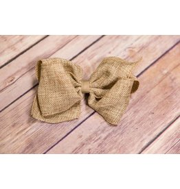Wee Ones Burlap Mini-King Bow