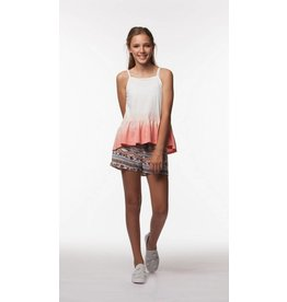 PP LA Orange Ombre Noodle Strap Tunic
