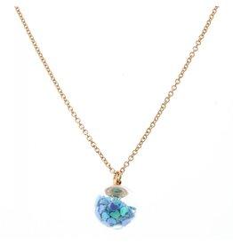 Jane Marie Confetti Globe Necklace