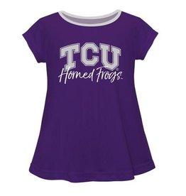 Vive La Fete TCU Solid Purple Laurie Shirt