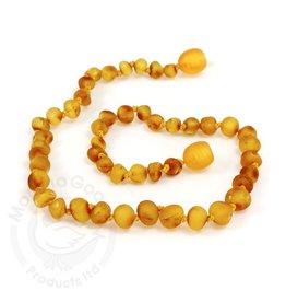 Momma Goose Raw Honey Amber Teething Necklace