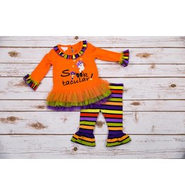 Bonnie Jean Spooktackular Tunic And Legging Set