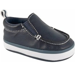 Baby Deer Navy Slip On with Elastic