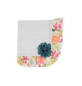 Haute Baby Gracie's Garden Matching Blanket