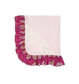 Haute Baby Magenta Magic Matching Blanket