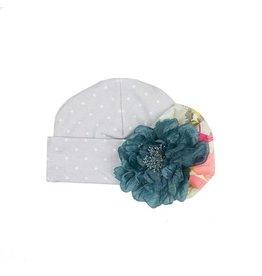 Haute Baby Gracie's Garden Matching Cap