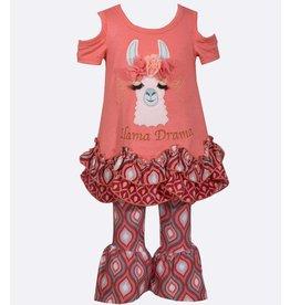 Bonnie Baby Llama Drama Shirt and Pant Set