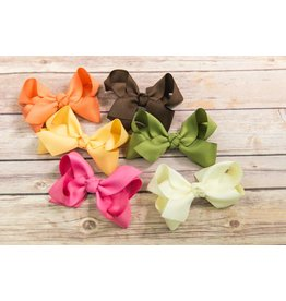 Wee Ones Medium Herringbone Textile Bow