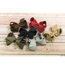 Wee Ones Medium Suede Bow