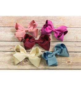 Wee Ones Medium Iridescent Taffeta Bow