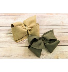 Wee Ones Extra Large Suede Bow