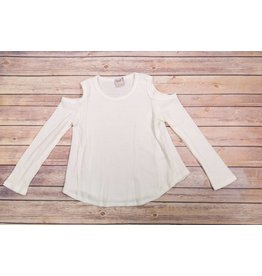 Paper Crane Long Sleeve Cold Shoulder