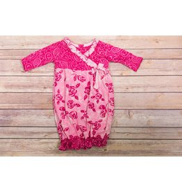 koko-nut Milk Rose Gown