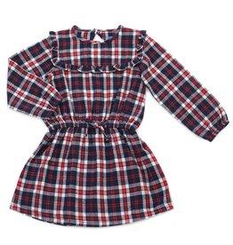 Kapital K Mulberry Plaid Flannel Dress