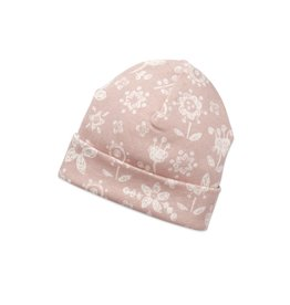 Frilly Floral Beanie