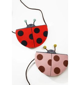 Mae Li Rose Ladybug Purse